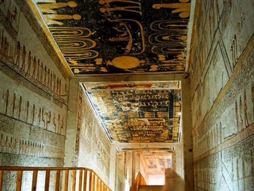 Гробница фараона Рамзеса IX, зал В