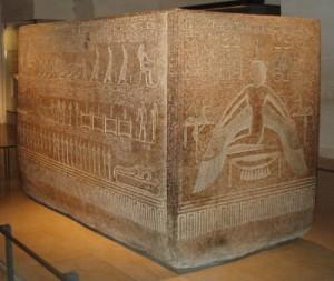 Саркофаг фараона Рамзеса IX