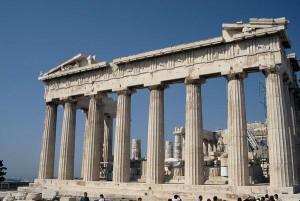 Панфенон Древней Греции
