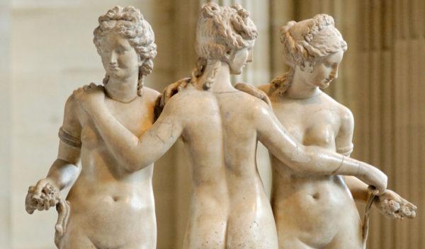 Женские прически в древней Греции