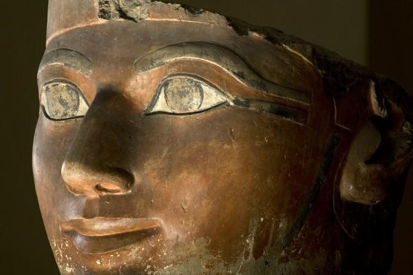 Статуя царицы Хатшепсут. Фото. Египетский музей древностей
