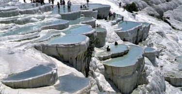 Ванны Клеопатры, Памуккале, Турция