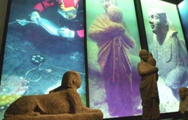 Выставка: Подводные сокровища Александрии