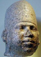 Статуя фараона Хуни Египет