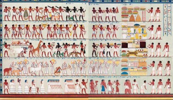 Экспедиция царицы Египта Хатшепсут в Пунт фото