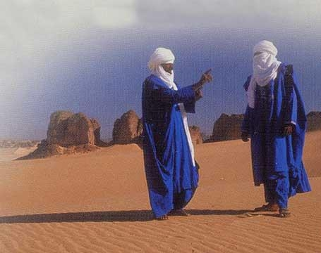 Племена таурегиов Ливия, Африка фото