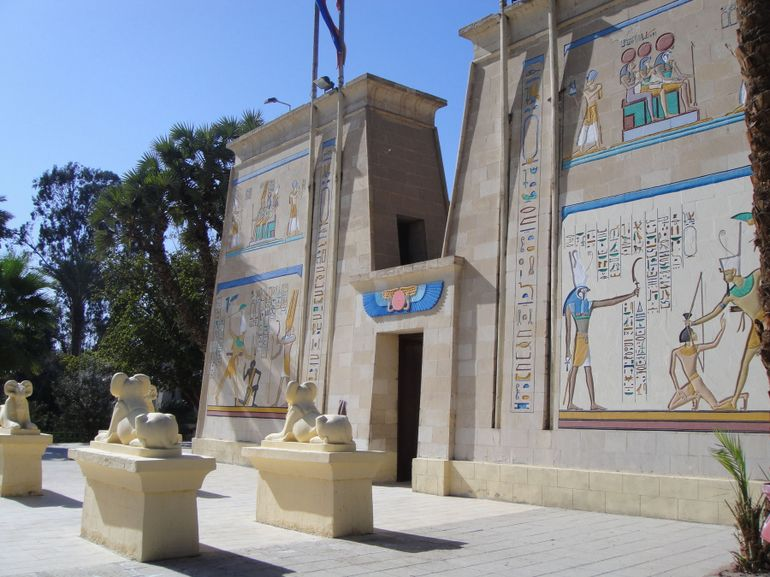 Музей фараонов древнего Египта