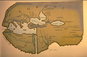 Карта Геродота и Ливия картинки