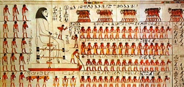 Строительство пирамид Древнего Египта фото