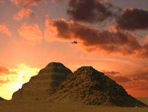Пирамида Египта фараона Тети и Джосера фото