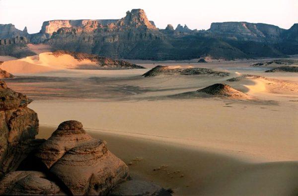 Пустыни Ливии фото