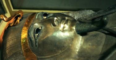 Маска фараона Египта Псусеннеса II картинки