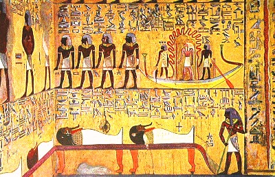 Искусство макияжа Древнего Египта - Древний