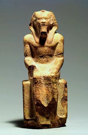 Статуя фараона Микерина, Музей Бостона картинки
