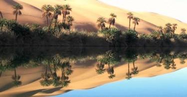 Пустыня Ливии Убари фото
