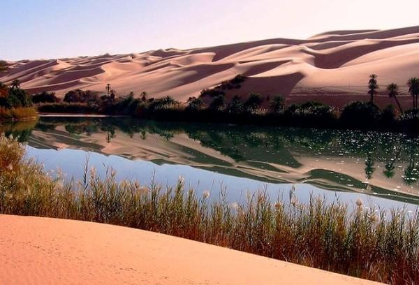 Оазис Ливии Джагбуб фото