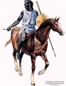 Воин Древней Ливии (Нумидии) картинки