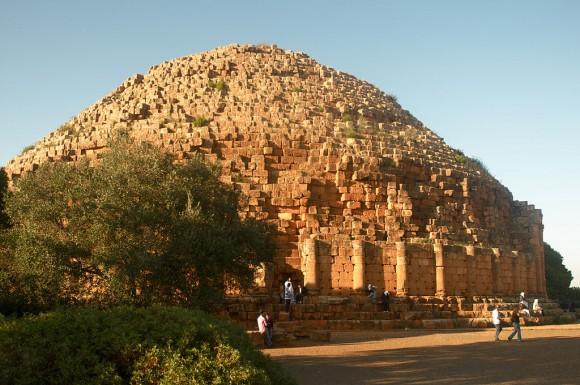 Гробница царя Нумидии Юба