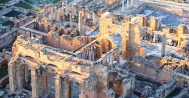 Лептис-Магна, римские руины Ливии фото