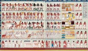 Сбор налогов в древнем ЕГипте
