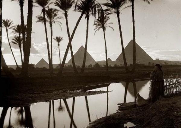 Пирамиды Древнего Египта фото
