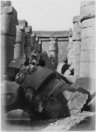 Карнакский храм. Луксор. Египет. фото
