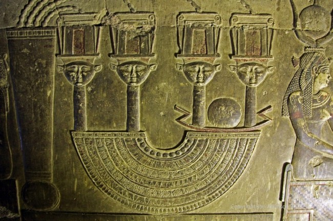 Рисунки храма Дендера Египет Картинки