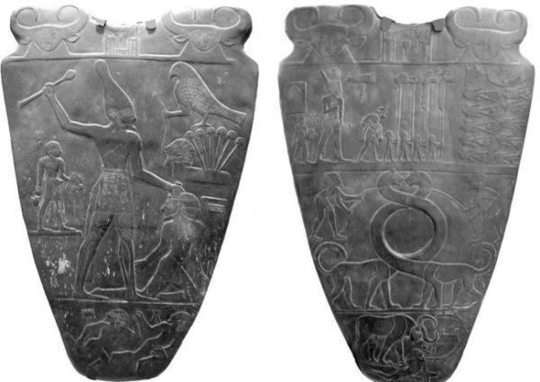 Палетт фараона Нармера фото
