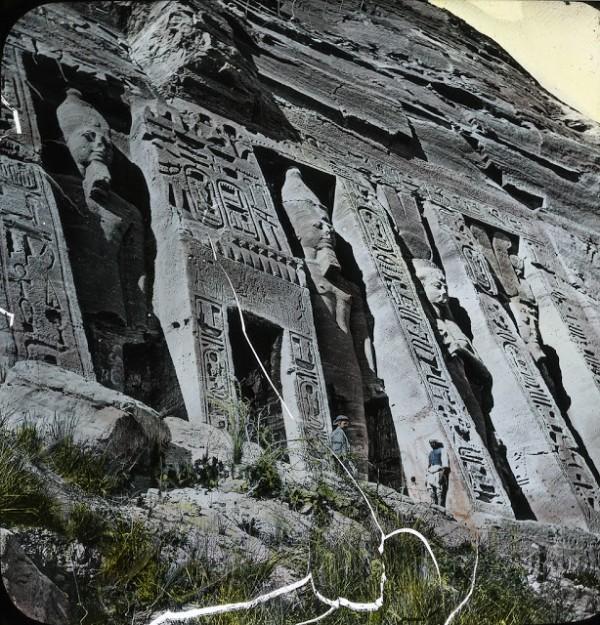 Храм Абу-Симбел. Древний Египет фото