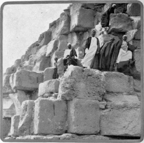 Пирамида Хеопса (Хуфу). Древний Египет. Фото
