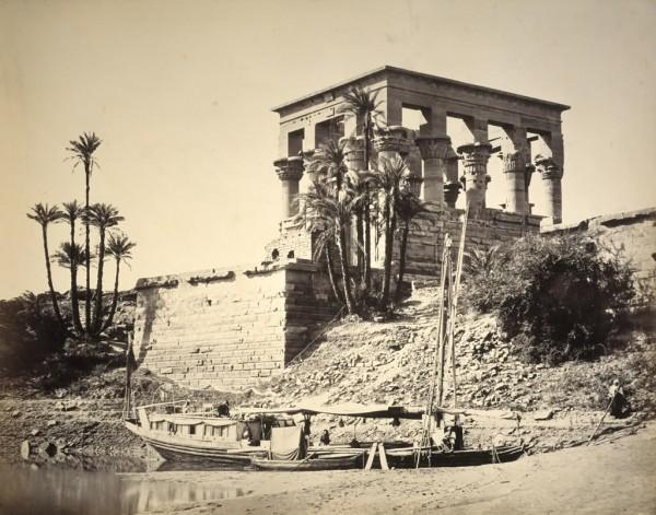 Храм Исиды в Абидосе. Древний Египет. Фото.