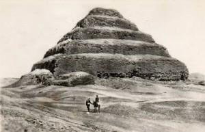 Пирамида Саккары фараона Джосера. фото