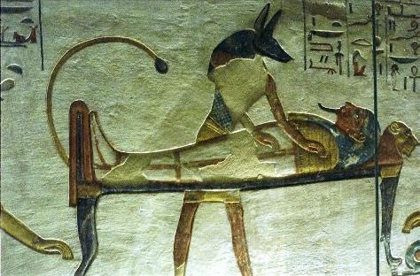Культ Осириса в царстве Мертвых Древнего Египта