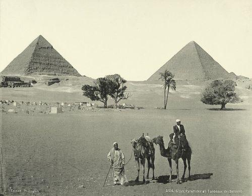 Пирамиды Египта. Гиза. Фото
