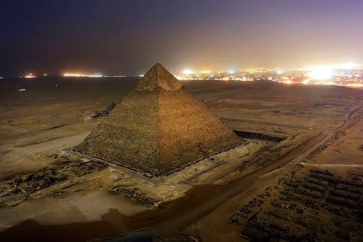 Пирамида Хеопса (Хуфу) плато Гизы, Египет фото