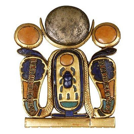 Брошь Тутанхамона, Древний Египет. Каирский музей древностей. фото