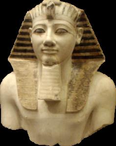 Статуя фараона Египта Тутмоса III фото