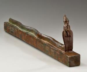 Мумия змеи Древний Египет