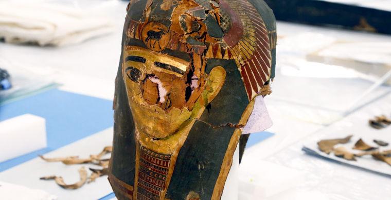 Мумия Древнего Египта. Фото
