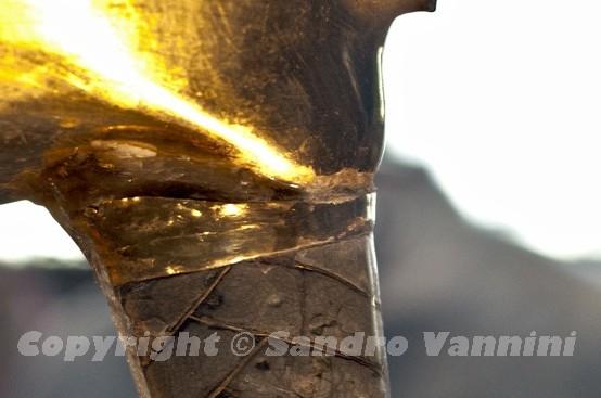 Золотая маска Тутанхамона после ремонта. Египетский музей древностей, Каир