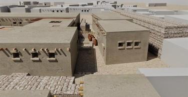 Дома древнего Египта: 3D-реконструкция