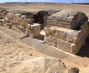 Древние символы Египта в гробнице царицы