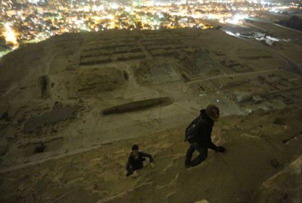 Пирамиды Египта на вершине