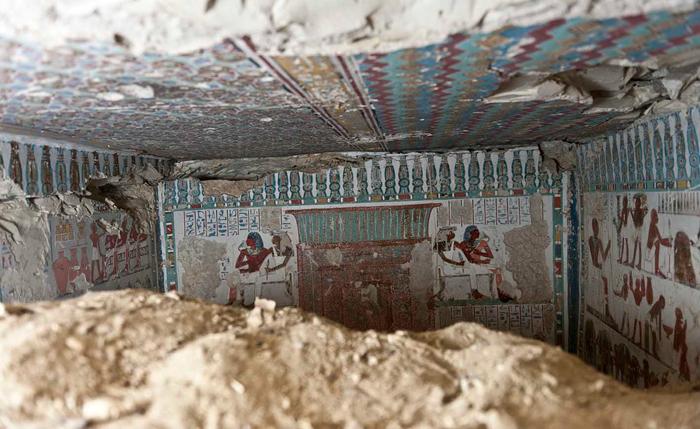 Гробница стража Амона. Египет, Луксор
