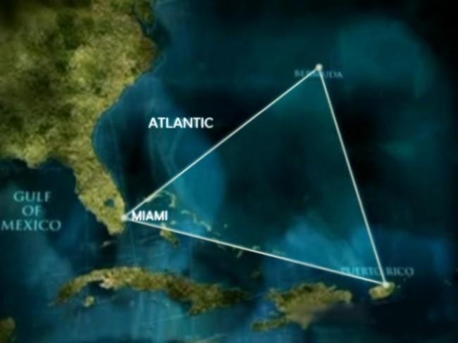 Пирамиды на дне Бермудского треугольника