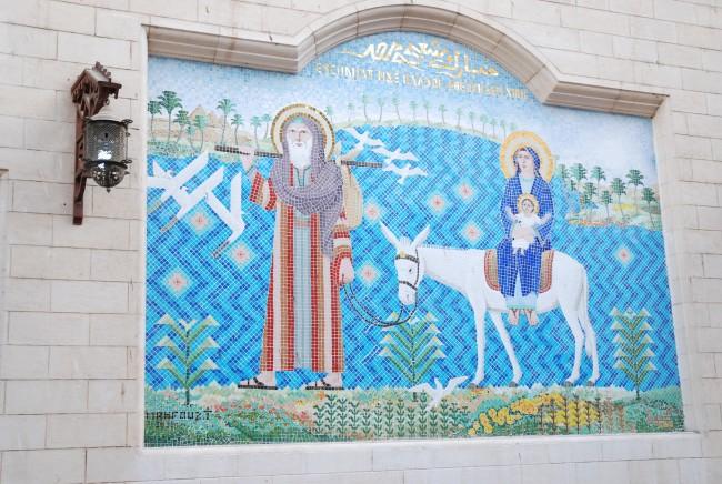 Коптская христианская церковь, Каир, Египет.