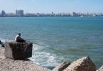 Набережная Средиземного моря. Александрия, страна пирамид фото