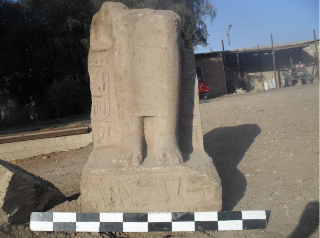 Статуя древнего Египта фото