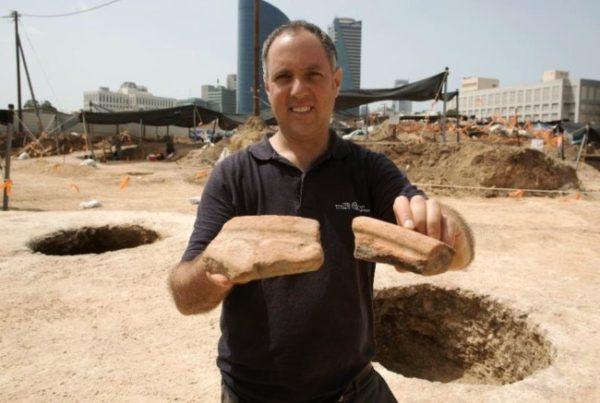 Сосуды древнего Египта в Израиле