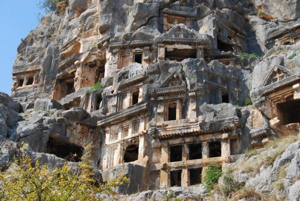 Древние гробницы Турции, Бодрум